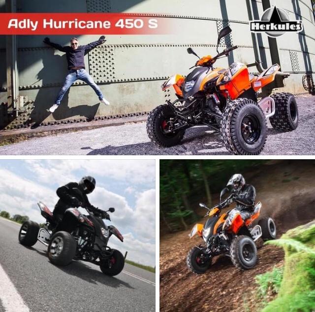 Rarität Adly Hurricane 450
